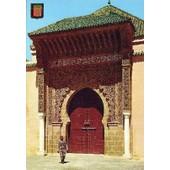 C.Postale : Maroc - Meknes - Tombeau Moulay Ismail, Entr�e