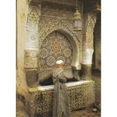 C.Postale : Maroc - Fes - La Fontaine Nedjarine