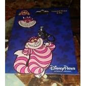 Pins + Medaille Disney Chat Cheshire Alice Au Pays Des Merveilles Disneyland Paris Pins Trading