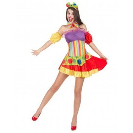 D�guisement Clown Femme, Taille S / M