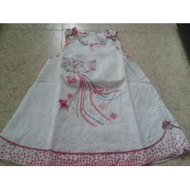 Robe C&a Coton 12 Mois Blanc