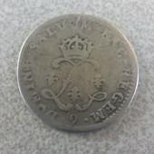 Monnaie Argent 4 Sol Louis Xiv