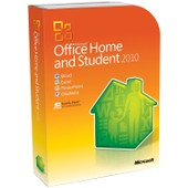 Microsoft Office 2010 Home & Student 32/64 Bit [Family Pack 3 Pc]