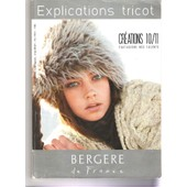 Catalogue De Tricot Explications , Cr�ations 10/11