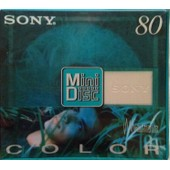 MINI DISC VIERGE 80 MINUTES SONY COLOR