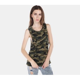 Tee Shirt Kaki Imprim� Militaire