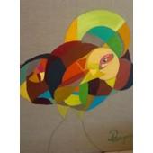 Tableau Peinture Oiseau