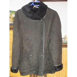 Veste Made In France Veste Courte Cuir 40 Noir