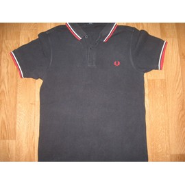 Polo Fred Perry Slim Fit Coton S Bleu