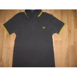 Polo Fred Perry Slim Fit Coton S Noir