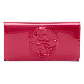 Portefeuille Guess Femme Logo G En Relief Simili Cuir Fa�on Vinyle Korry Slg Neuf
