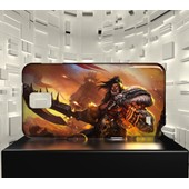 Coque Samsung Galaxy Note 4 Jvf World Of Warcraft Wow 25 Grommash Hurlenfer