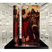 Coque Iphone 5c Jvf World Of Warcraft Wow 51 Orgrim Marteau Du Destin