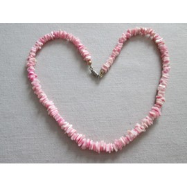 Collier �clats De Coquillages Roses