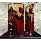 Coque Samsung Galaxy S5 Jvf World Of Warcraft Wow 51 Orgrim Marteau Du Destin