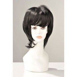 Perruque Brigitte Cheveux Brun