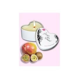 Secret De Boudoir - Bougie De Massage Comestible Fruits Exotiques