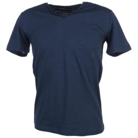 Tee Shirt Manches Courtes Teddy Smith Tag Vintage Indigo Mc Tee Bleu 78568