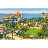 C.Postale : France - 06 - Nice - Le Jardin Albert 1er Et La Jet�e-Promenade (1939)