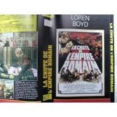 Jaquette Du Film.La Chute De L'empire Romain(1964).R�alisation.Anthony Mann Avec Sophia Loren,Stephen Boyd,Alec Guinness