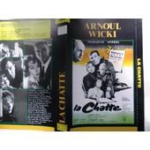 Jaquette Du Film.La Chatte(1958).R�alisation.Henri Decoin Avec Fran�oise Arnoul,Bernard Wicki,Kurt Meisel,Bernard Blier