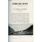 L'echo Des Alpes - Publication Des Sections Romandes Du Club Alpin Suisse N�1 - Une Ascension Au Wesshorn Par Ernest Christen, L'ascension Du Weisshorn Par Les Cordes Du Versant Ouest Par ...