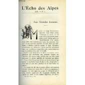 L'echo Des Alpes - Publication Des Sections Romandes Du Club Alpin Suisse N�5 - Aux Grandes Jorasses Par William Brack, L'atmosphere Montagnarde Par Le Dr N. Betchov, La Montagne Et La T. ...