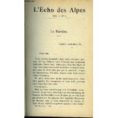 L'echo Des Alpes - Publication Des Sections Romandes Du Club Alpin Suisse N�2 - La Bernina Par A. Brun, Courses Nouvelles Dans Les Alpes Par E.-R. Blanchet, Le Voyageur A Pied, Echos ...
