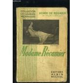 Madame Recamier de henri de regnier