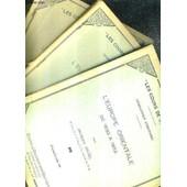 Les Cours De Sorbonne - Agregation D'histoire - L'europe Orientale De 1830 A 1852 / En 3 Fascicules / Fascicules 1 + 2 + 3 . de jacques ancel