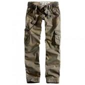 Pantalon Treillis Cargo Femme Premium Slimmy Camouflage Woodland Surplus Vintage
