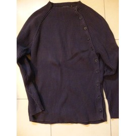 Pull Devred Coton Xl Bleu