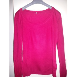 Pull Auchan 38 Rouge