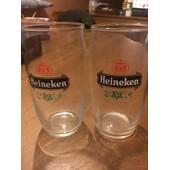 2 Verres � Bi�re Heineken