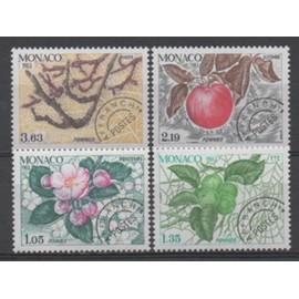 Monaco 1983: Série de 4 timbres préoblitérés N° 78, 79, 80 et 81.