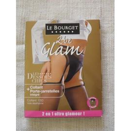 Collants/Porte-Jarretelles Le Bourget Les Dessous Chics T3 Noir