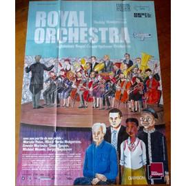 Royal Orchestra De Heddy Honigmann - Affiche Originale De Film Format 120 X 160 Cm