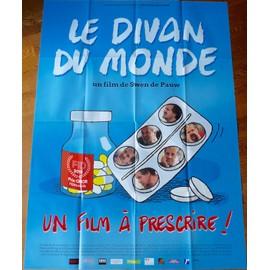 Le Divan Du Monde De Swen De Pauw Avec Georges Federmann... - Affiche Originale De Film Format 120 X 160 Cm