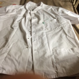 Blouse M�dicale Xxl Blanche