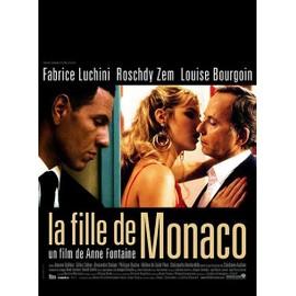 La Fille De Monaco - V�ritable Affiche De Cin�ma - Format 120x160 Cm - De Anne Fontaine Avec Fabrice Luchini, Roschdy Zem, Louise Bourgoin - Ann�e 2008