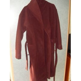 Robe De Chambre Qimmik Polyester 44 Rouge