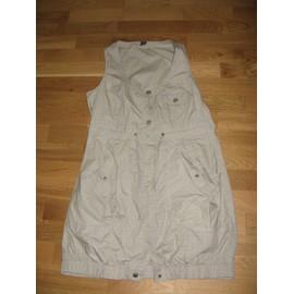 Tunique M&s Mode Robe Coton 42 Beige