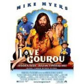 Love Gourou - Mike Myers - Marco Schnabel - Jessica Alba - Justin Timberlake - Affiche De Cin�ma Pli�e 60x40 Cm