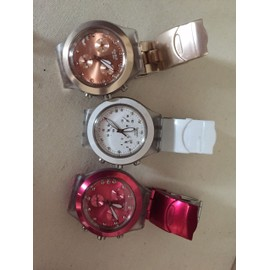 Lot de 3 Montres Swatch collection Full Blooded