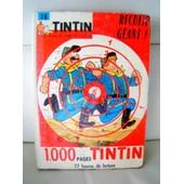 Tintin - Recueil Geant N� 56 - 1000 Pages Tintin - Ann�e = 1962 de tintin