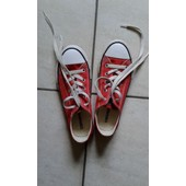 Baskets Converse 33 Rouge