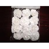 12 Roses � Pique Blanc