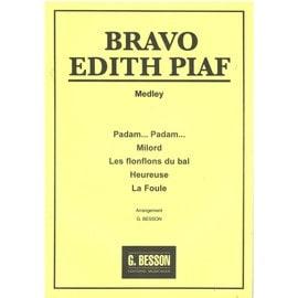 Bravo Edith Piaf Medley  Arrgt BESSON