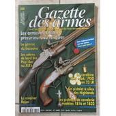 Gazette Des Armes N� 322 Mas 1950 22 Lr Sabres De Bord Pays Bas Revolver Rajon Pistolets De Cavalerie 1816 Et 1822 Pistolet A Silex Highlands Carabines Revolver Devisme 322