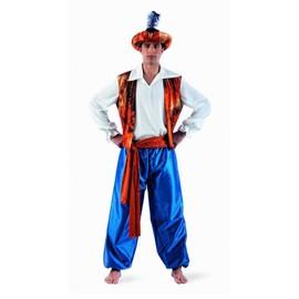 D�guisement Aladin Homme Luxe - M - Multicolore
